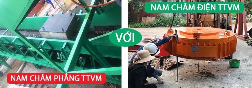 Đánh giá ưu điểm sản phẩm nam châm điện và nam châm phẳng TTVM