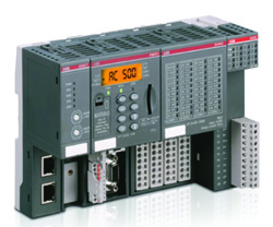 Scalable PLC AC500: realtime Ethernet PROFINET IO master with PM592-ETH-XC and CM579-PNIO-XC