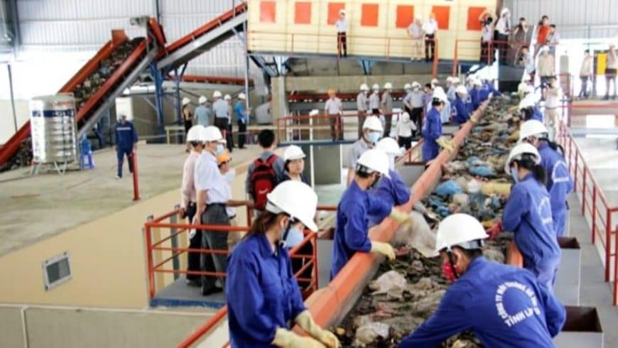 Những Phương pháp lọc tách sắt ở nhà máy rác hiệu quả cao