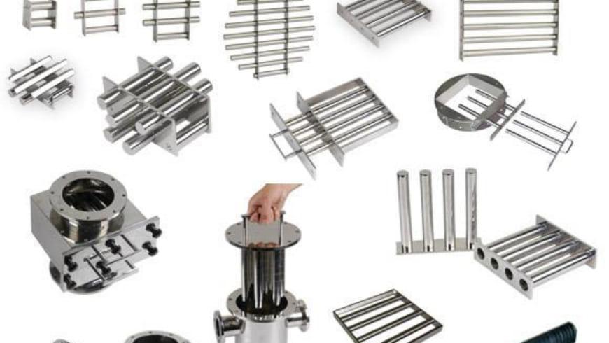 Ứng dụng của lưới nam châm lưới trong công nghiệp sản xuất
